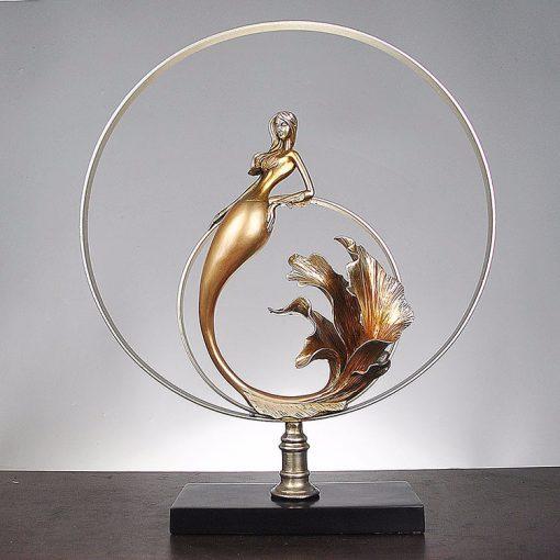 Tượng nàng tiên cá mã BB69_2