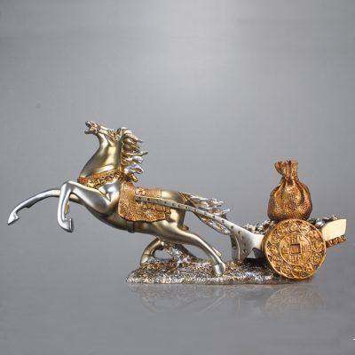 Tượng ngựa phong thủy mã BB34